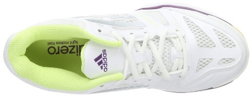 adidas Adizero Crazy - - Mujer Blanco (Blanc - Weiß (Running White FTW/Tech Grey Metallic S14/Tribe Purple S14))