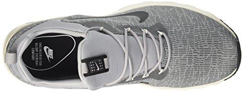 Nike Mens Air Max Motion Racer Loopschoen Cool Grijs / Zwart Wolf Grijs Zeil