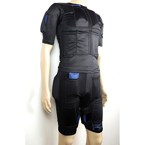 Icinger Power cooling suit to burn fat with cold - Ice packs included - Size Shorts & TShirt M - M ()