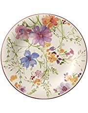 Villeroy & Boch Mariefleur Basic Salad Plate, 8.25 in, White/Multicolored