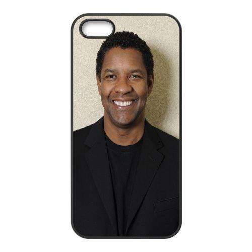 Denzel Washington Actor Smile Celebrity Coat Man 18969 coque iPhone 4 4S cellulaire cas coque de téléphone cas téléphone cellulaire noir couvercle EEEXLKNBC24533