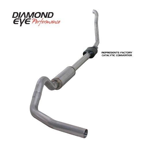 4' Turbo Back Kit (Diamond Eye K4306A-RP Turbo-Back Exhaust Kit)