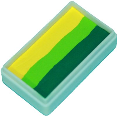 TAG Face Paint 1-Stroke Split Cake - Leaf Yellow (30g)