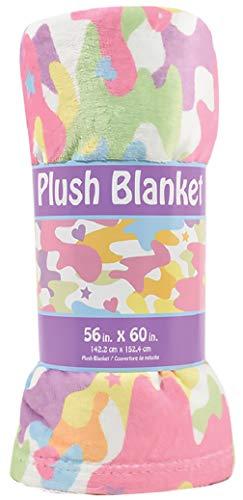 iscream Pastel Camo Silky Soft Plush 56