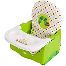 The World of Eric Carle Creative Baby Happy and Hungry Caterpillar Booster Seat, Green