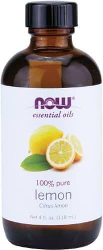 NOW  Lemon Oil, 4-Ounce