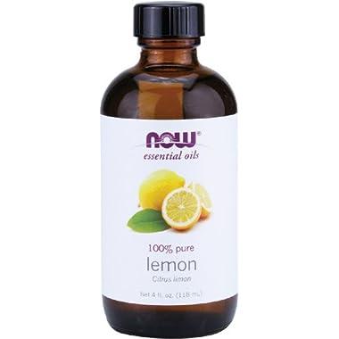 Now Foods Essential Oil, Lemon, 4 Fluid Ounce