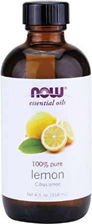 Now  Essential Oil, Lemon, 4 Fluid Ounce