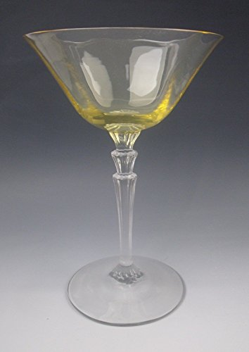 Fostoria Glass 5009/5299 AMBER Champagne/Sherbet Glass(es) EXCELLENT ()