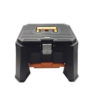 worx wa4214 storage step stool home improvement. Black Bedroom Furniture Sets. Home Design Ideas
