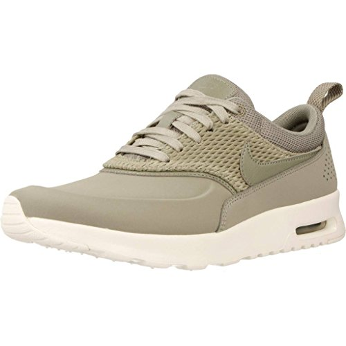 Femme Vert Nike Air Premium Thea Basses Leather Sneakers Max xw8qw70Cz