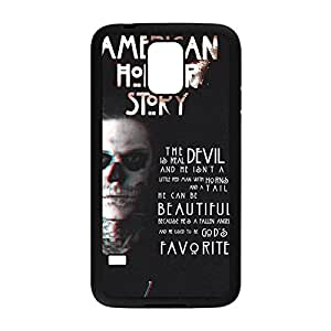 Special & Simple Design American Horror Story Hard Plastic Case Cover for Samsung Galaxy S5 with Image Black 022709