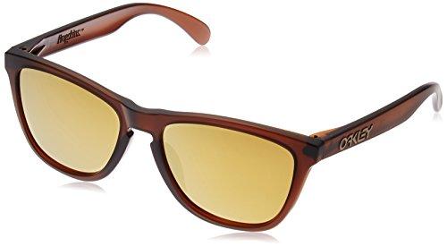 Sunglasses Root Beer - Oakley Men's Frogskins OO9245-04 Wayfarer Sunglasses, Matte Root Beer, 54 mm