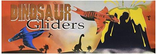 Rhode island Novelty Dinosaur Gliders Set (48 Pack), 7 1/2