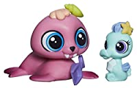 Littlest Pet Shop Pet Pawsabilities Wallace Waterman & Sally Seaforth 3818 3819