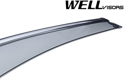JDM Vent Window Visor Out-Channel 4pc Wind Deflector For Lexus GX470 2003-2009