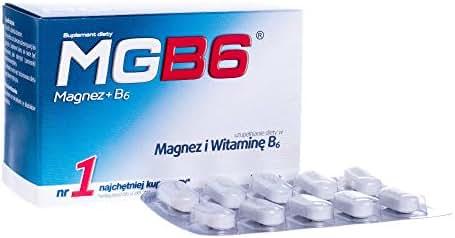 MGB6 x 50 Tablets, Magnesium and Vitamin B6