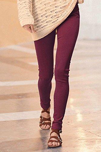 Ex Next - Jeans - Femme * Taille Unique Bordeaux
