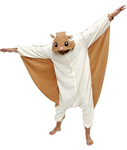 Lava-ring Costume Animal Pyjamas Flying Squirrel Cartoon Sleepwear