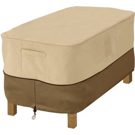Veranda Patio Ottoman and Table Cover, Small Rectangular, fits up to 32''L x 22''W?? by Generic