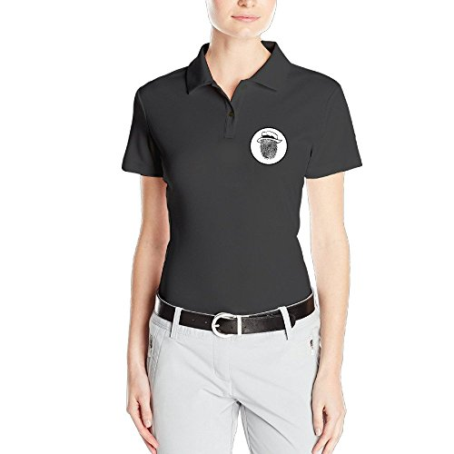 Price comparison product image MZONE Women's Fingerprint Particular Polo Short-Sleeve T-shirt