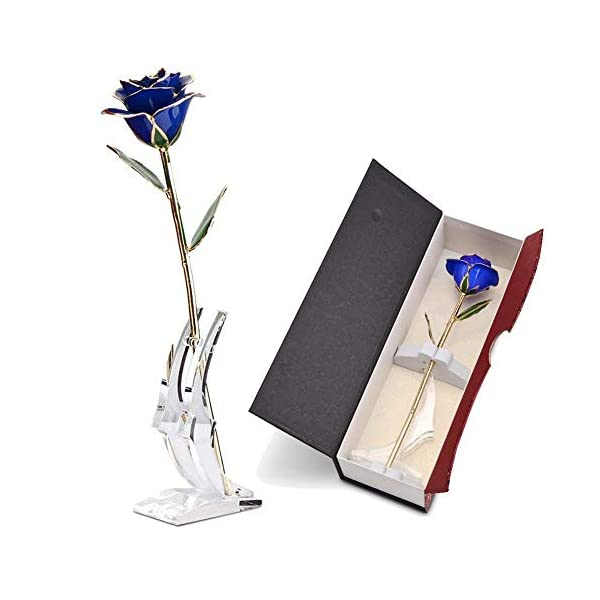 ABEDOE-Long-Stem-24k-Gold-Rose-Flower-in-Box-Best-Romantic-Gift-for-Anniversary-Thanks-Giving-Day-Valentines-Day-Mothers-Day-Birthday-Gift