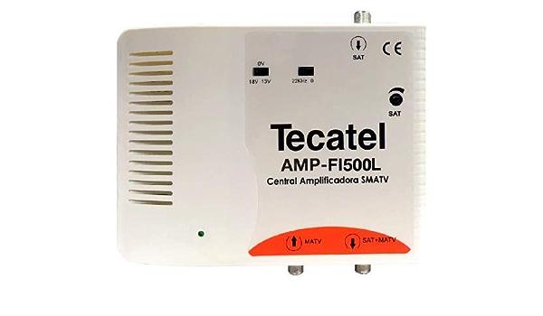 Central Amplificadora FI 35dB LTE 5G Tecatel
