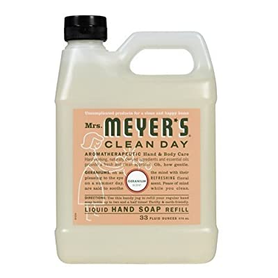 Johnson S.C. & Sons Inc. Mrs. Meyers Liquid Hand Soap Refill Liquid 33 Oz Geranium Scent