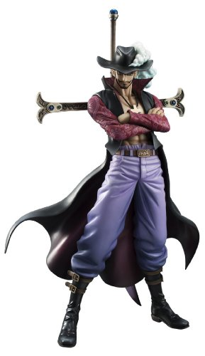 Megahouse One Piece P.O.P Neo-DX: Hawk-Eyes PVC Figure, Excellent Model