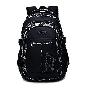 Toupons Boy's School Backpack Bookbag For Primary & Middle School