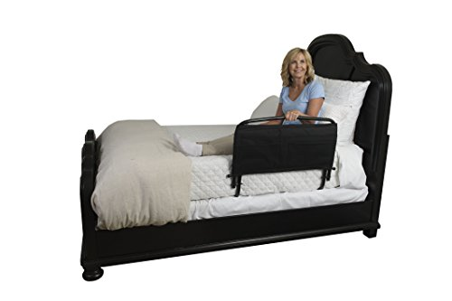 Stander 30'' Safety Adult Bed Rail & Padded Pouch- Home Elderly Bedside Safety Rail + Swing Down Assist Handle by Stander (Image #7)