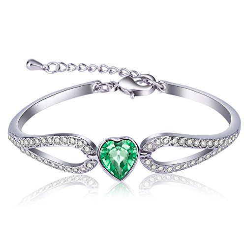 Sweet Olives (ORIGIN BEAUTY Sweet and Honey Olive Green Crystal Bracelet)