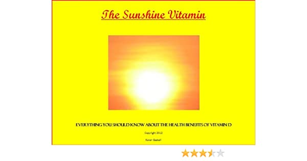 a40cd66f7 The Sunshine Vitamin --Everything You Should Know about the Health ...