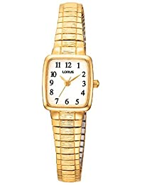 Lorus RPH56A Analog Gold-Plated Expansion Bracelet Watch