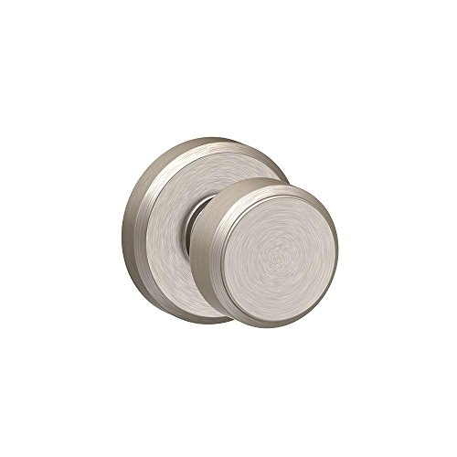 Schlage F10 BWE 619 GSN Greyson Collection Bowery Passage Lock Knob, Satin Nickel