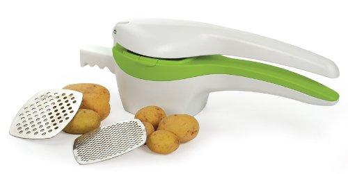RSVP SPUD Potato Ricer, White/Green