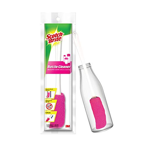 Scotch-Brite-Plastic-Bottle-Cleaner-Brush-Pink-and-White