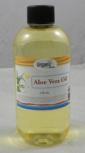 Organic Aloe Vera Oil - 100% Pure 240 ml (8 Oz) - by SaaQin