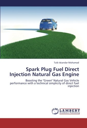 Spark Plug Fuel Direct Injection Natural Gas Engine: Boosting the