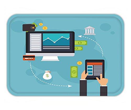 Beshowere Doormat flat design vector illustration concepts of online payment methods internet banking - Online Methods Payment