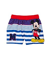 Mickey Mouse Baby Toddler Boy Striped Swim Trunks