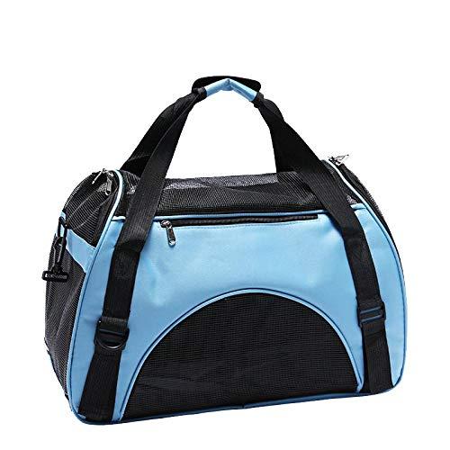 QKEMM Kleine Hunde Welpen Katze Tasche Hundetasche Unsere Tragbare Tragbare Reisetasche Haustier Tragetasche…