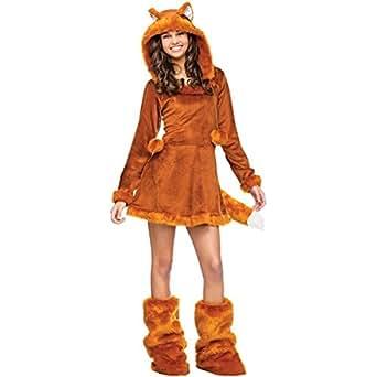 Fun 215062 0-9 World marrón esquijamas disfraz infantil de diseño de tartas de Fox marrón