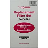 Zojirushi PA-FMC02 Replacement filter set which includes two replacement filters and two deodorizing filters for the Zojirushi PA-MTC14 Ultra Slim Air Purifier