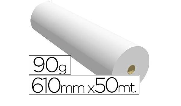 Sprintjet 7610509B - Papel reprografía para plotter, 610 mm x 50 m: Amazon.es: Oficina y papelería
