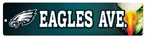 Used, NFL Philadelphia Eagles 16-Inch Plastic Street Sign for sale  Delivered anywhere in USA