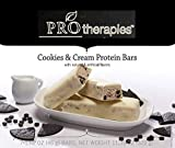 ProTherapies Protein Bar 15g- Low Carb High-Protein Weight Loss Snack Bar for Healthy Diets, Cookies & Cream, 7 Count