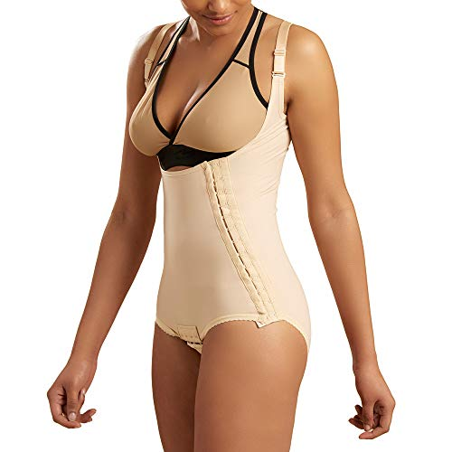 - Marena Recovery Panty-Length Post Surgical Compression Girdle with High-Back