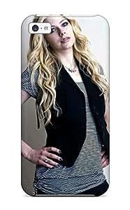 New Fashion Premium Tpu Case Cover For Iphone 5c - Avril Lavigne 49
