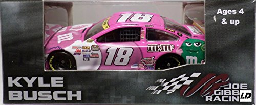 2015 (1st Championship) MMs M&Ms Paint Scheme Kyle Busch #18 Paint the Track Pink Toyota Camry 1/64 Scale Diecast Limited Edition Action Racing Collectables
